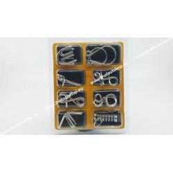 Puzzle Metalic A - Set 8 Jocuri de Logica