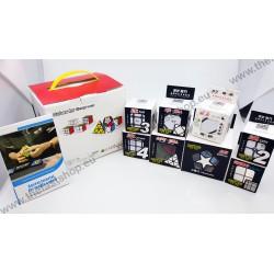 Pachet Cadou QiYi -Pyraminx + Megaminx + Skewb + Mastermorphix - Cuburi Rubik