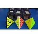 QiYi - MFG X-Man Bell Magnetic Pyraminx - Cub